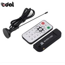 Профессиональный цифровой USB ТВ FM + DAB DVB-T RTL2832U + FC0012 Поддержка SDR приемник тюнер