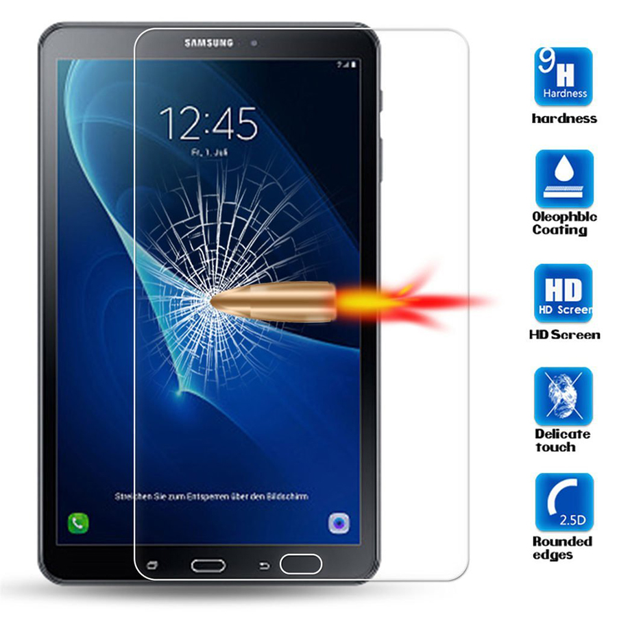 Tempered Glass For Samsung Galaxy Tab A 7 0 8 0 9 7 10 1 2016 T280 T285 T350 T355 T550 T580 T585 A6 P580 Tablet Screen Protector in Phone Screen Protectors from Cellphones Telecommunications