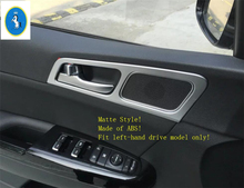 Yimaautotrims For KIA Sportage 2016 2017 2018 ABS New Style Matte Inner Door Handle Bowl Frame Chromium Styling Cover Trim 4 Pcs