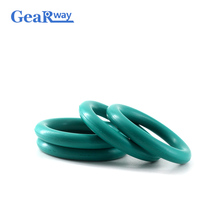 Gearway Fluorine Rubber O Ring Seal Gasket 5mm CS Green FKM Sealing 15/16/17/18/34/35/36mm OD Washer