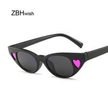 Fashion Cat Eye Sunglasses Women Small L