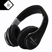JKR 211B Bluetooth Headphone Earphones Sports Music Headset TF Card Aux In Hands Free For IPhone