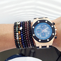 Multistyle Natural stone beads bracelet Lapis Lazuli Agate Bracelet For Woman Man Pulseras Mujer,925 sterling silver Bracelet