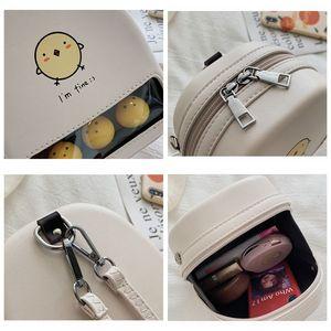Image 5 - Màu Vàng Dễ Thương Vịt Rõ Ràng Ita Bookbags Nữ Hoạt Hình In Hình Ba Lô Nữ Mini Schoolbags Cho Bé Gái Lưng Bằng Pu Gói 2019 hot