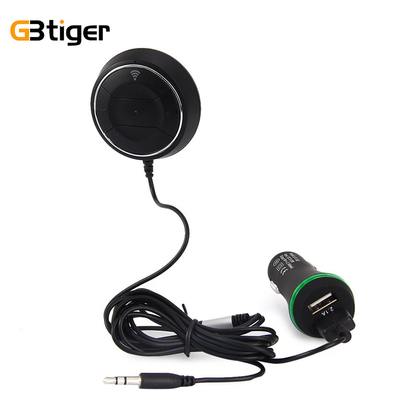 Mini Bluetooth Nfc Receiver Car Kit Wireless Audio Adapter: Wireless Bluetooth 4.0 Car Kit NFC Music MP3 Audio