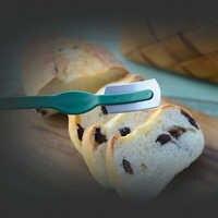 Lame lisse lames incurvées outil de notation sûr marqueur de pâte antirouille avec gaine couteau à pain cuisine boulangerie magasin maison facile à nettoyer