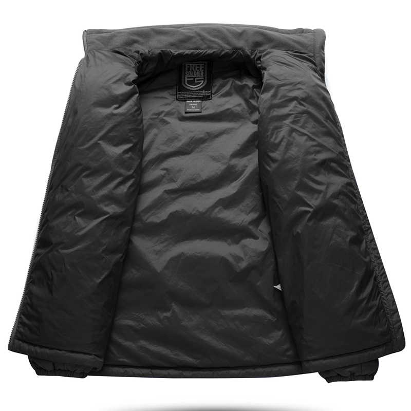 をフリー兵士屋外戦術キャンプハイキング嵐ジャケット、絶縁 sintepon ジャケット裏地男性のジャケット