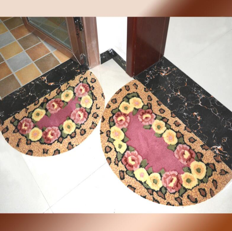 European Stair Carpet Sets Slip Resistance Stair trend Mats Step Rug for Stair 25*75cm fit for 25cm width Stair door mat
