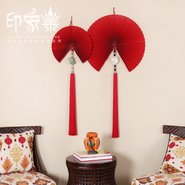 Thai Impression folding wall hangings wall decorations Southeast ...