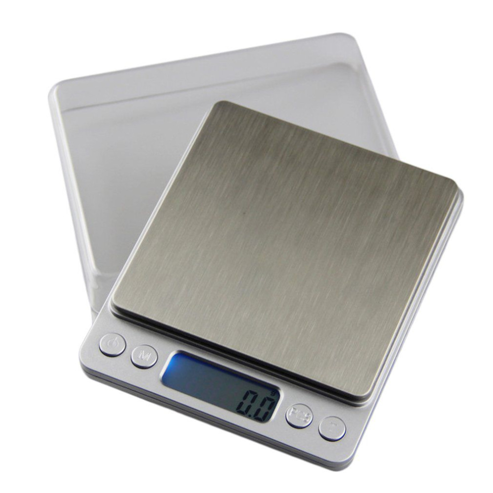 Stainless Steel Kitchen Scale High Precision Electronic Jewelry Balance Grams Weighing Tool 6 Unit 500/200/3000/2000/1000g 0.01g huangshan 1000g page 6