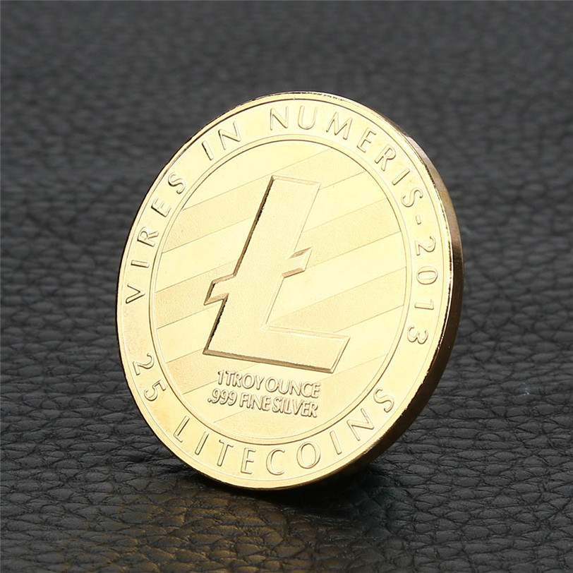 4x Gold Plated Coin Collectible Gift ETH Ethereum Miner Coin XNB01 Art Collection gold commemorative coins