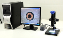 Best price Best Sale,2.0M Digital Mono Zoom video Microscope lens + Stand +USB2.0camera+LED ringlight,professional electronics microscope