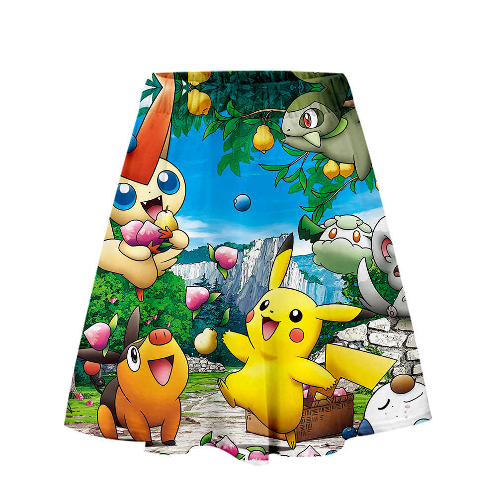 Pokemon Rock Harajuku Casual 2019 Neue Stil Harajuku Pop Röcke Neue Sexy Kpops Frauen Casual Heißer Verkauf Mode Röcke
