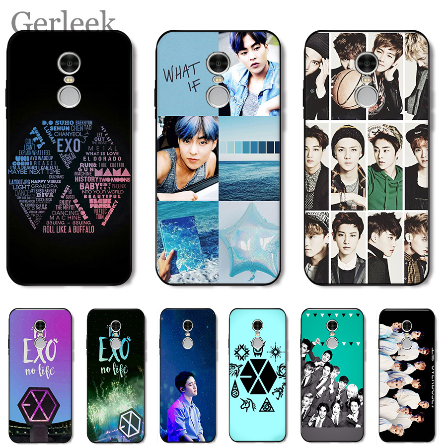 Mobile Phone <font><b>Case</b></font> <font><b>Kpop</b></font> Exo Lucky One For Xiaomi <font><b>Redmi</b></font> <font><b>Note</b></font> 4 4A 4X 5 5A 6 <font><b>7</b></font> GO S2 6A Pro Plus Prime Cover image