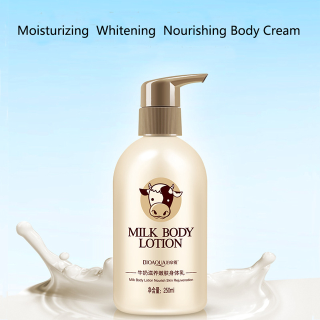 Deep Moisturizing Whitening Milk Body Lotion Cream