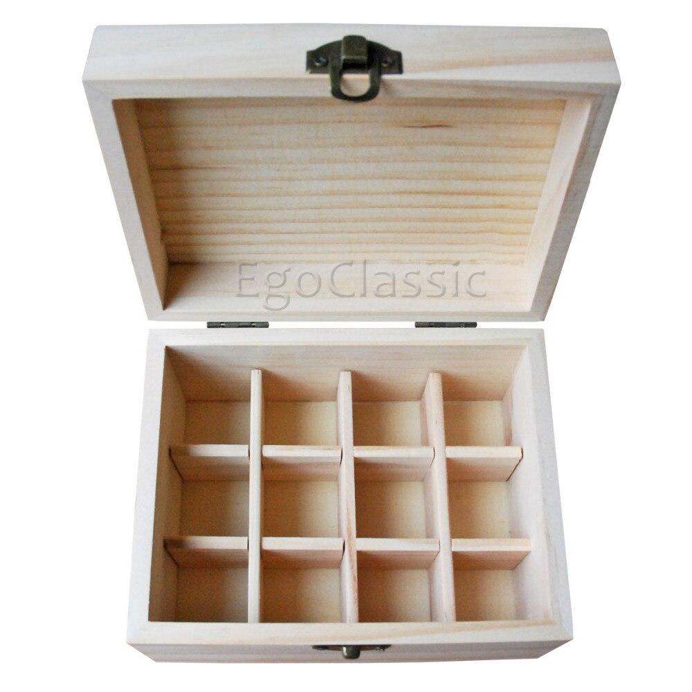 Factory Wholesale 6 Pieces Set Natural Pine Wooden Boxes