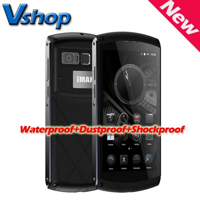 Цена за Оригинал iman виктор 4 г lte водонепроницаемый мобильный телефон android 6.0 MT6755 8 Core 2.0 ГГц ROM 64 ГБ RAM 4 ГБ Смартфон Отпечатков Пальцев OTG
