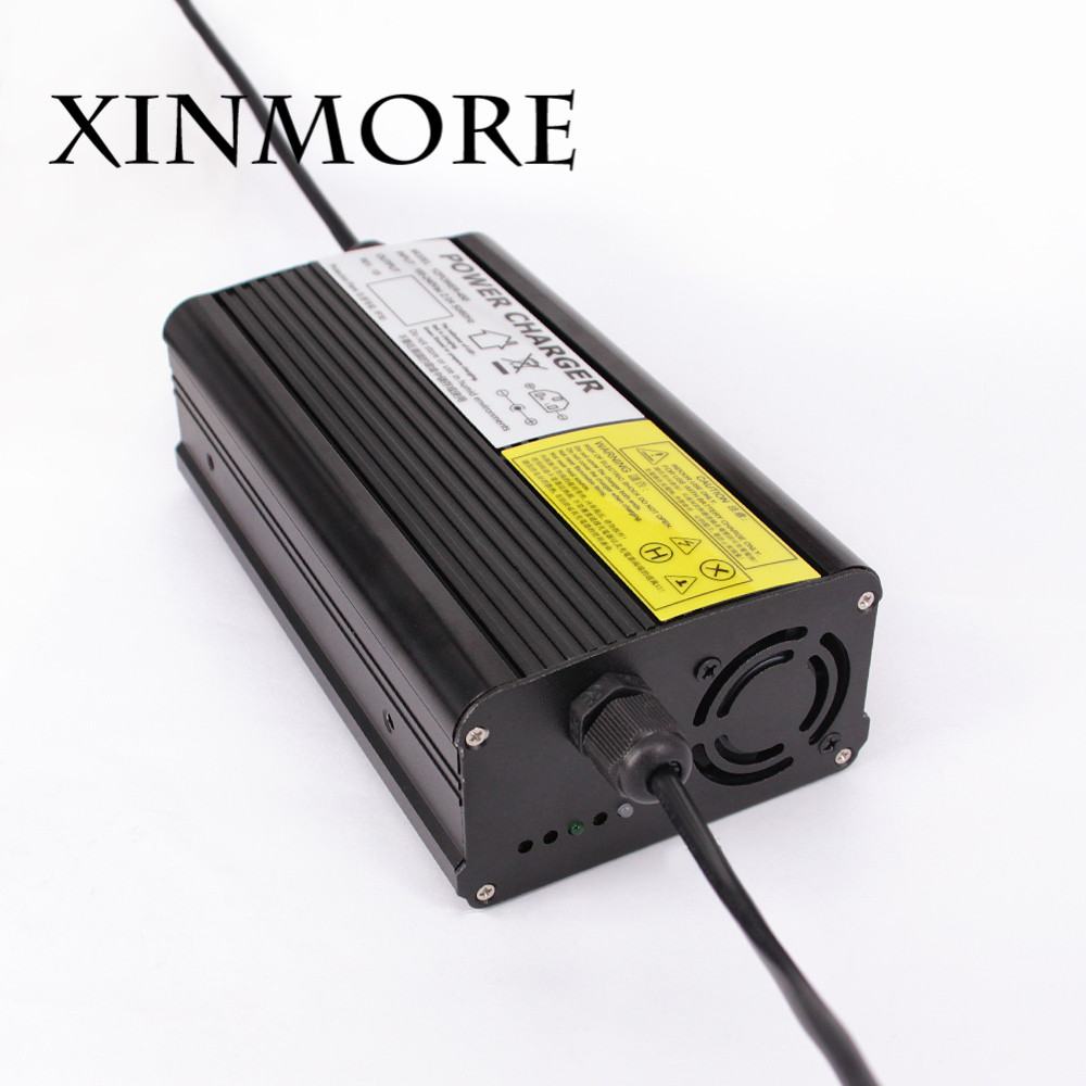 XINMORE 29V 10A 9A 8A Lead Acid Battery Charger For 24V Electric Bike Scooters E-bike with CE FCC ROHS SAAXINMORE 29V 10A 9A 8A Lead Acid Battery Charger For 24V Electric Bike Scooters E-bike with CE FCC ROHS SAA