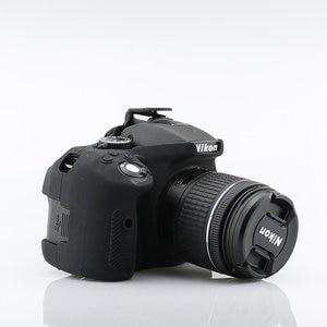 Image 5 - لينة سيليكون DSLR كاميرا حالة غطاء حقيبة لنيكون Z7 Z6 D780 D750 D850 D3300 D3400 D3500 D5300 D5500 D5600 D7100 D7200 D7500