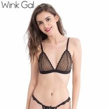 Купить с кэшбэком 2017 New Fashion Woman Bra Hot Sexy Bralette Brief Embroidery Lingerie Push Up Underwear W12114