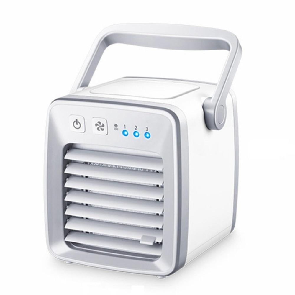 Модный воздушный охладитель вентилятор для сна офисное охлаждение увлажнение мини-пластиковый кондиционер Humifider вентилятор радиатора для