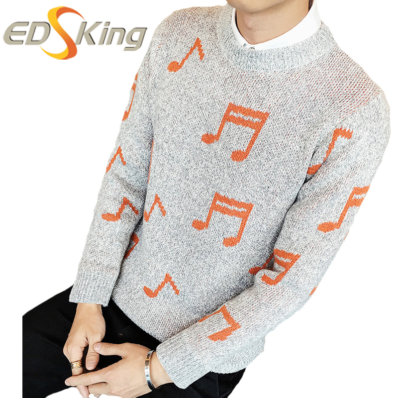 musical notes sweater sweater men musical note knitted dress pullover mens 790