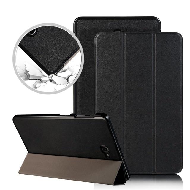 Funda tablet caso para Samsung Galaxy Tab A6 10,1 SM-T580 T585 protectora, funda para Samsung Galaxy Tab 10,1, 2016 caso