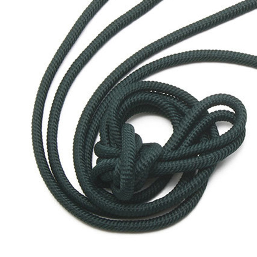 110cm Thread Round Braided Shoelaces Pants Rope Waist Rope Metal Head Shoe laces