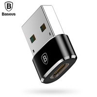 Baseus USB Male to USB Type C Female OTG Adapter Converter Type-c Cable Adapter For Nexus 5x 6p Oneplus 3 2 USB-C Data Charger