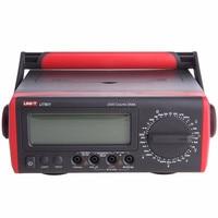 UNI T Original UT801 LCD Banco Digital multímetros alta precisión resistencia/capacitancia/frecuencia/medidor de temperatura|Medidores de capacidad| |  -
