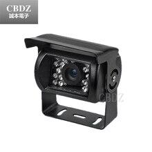 Car video camera 1/3″ Sony Effio-e CCD 650tvl IR CCTV vehicle camera for Bus Truck With Reversing Line free shipping