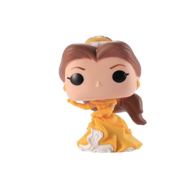 Funko pop disney beleza e a besta princesa boneca belle vinil figura de ação collectible modelo brinquedos para crianças presente aniversário