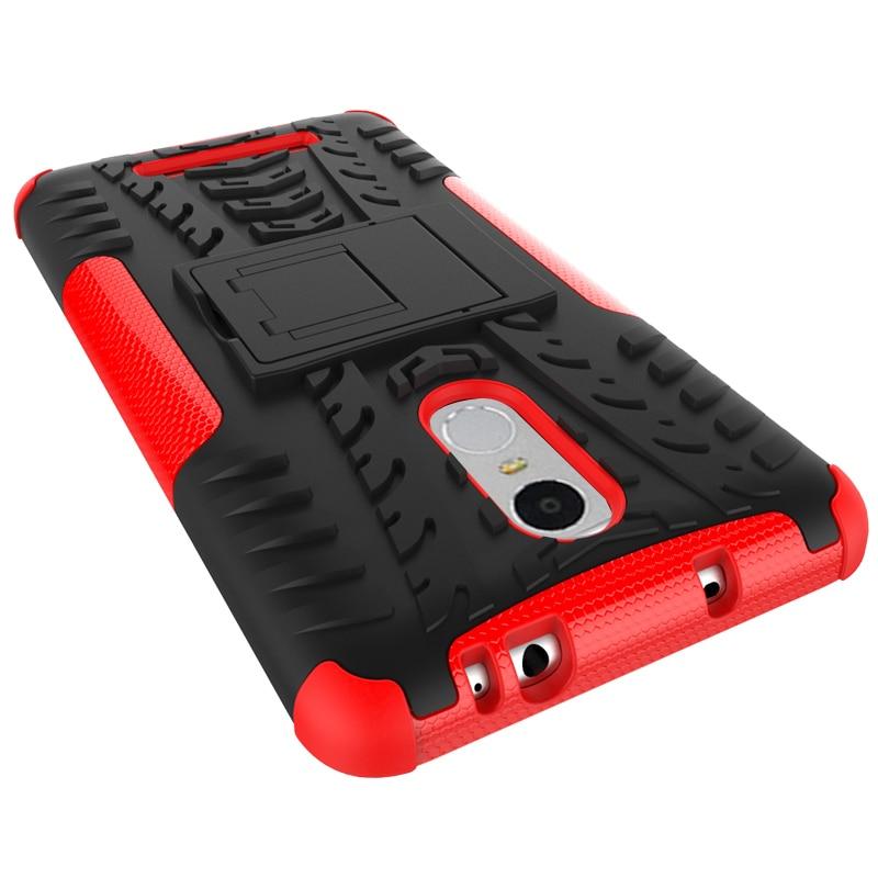 För Xiaomi Redmi Note3 Väskor Robust gummi Heavy Duty Armor Stand - Reservdelar och tillbehör för mobiltelefoner - Foto 2