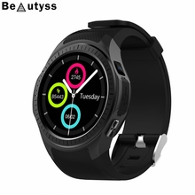 Beautyss F1 Smart Watch Support SIM & Bluetooth Phone GPS Smartwatch Phone Men Women IP67 Waterproof Heart Rate Monitor Clock стоимость