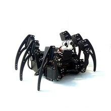 6 ноги Человека-паука может неваляшка/шестиногий бионические приманки для рыбной ловли робот/обучающее экспериментальное платформы комплект