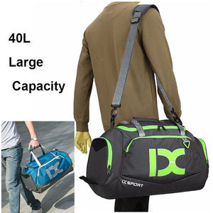 Image 5 - 40L Dry Wet Gym Bags For Fitness Travel Shoulder Bag Handbag Waterproof Sports Shoes Women Men Sac De Sport Training Tas XA473WA