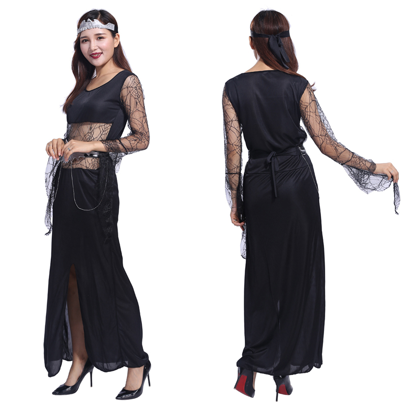 AliExpress new <font><b>sexy</b></font> <font><b>queen</b></font> <font><b>Halloween</b></font> vampire bat <font><b>Queen</b></font> Cosplay costume party masquerade opera image
