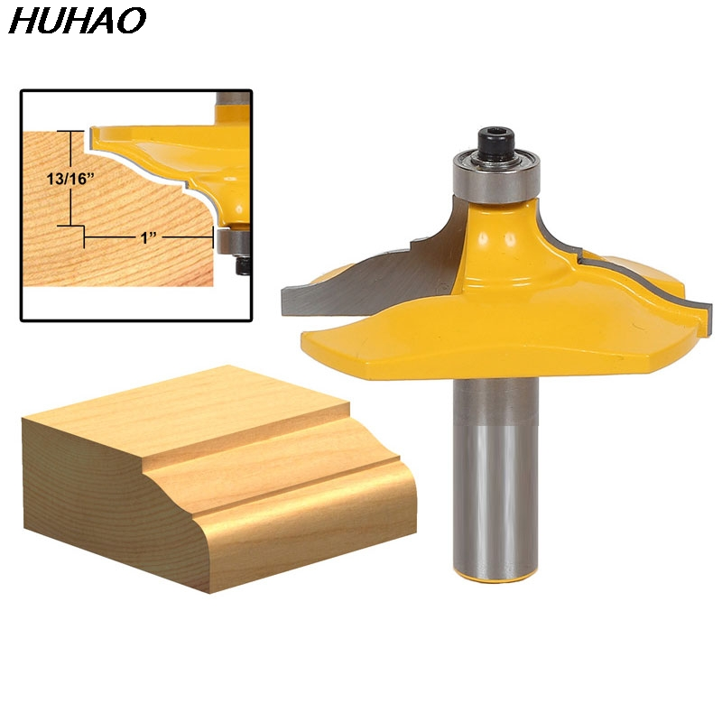 ФОТО 1pcs Molding and Edging Router Bit - Classical Ogee - 1/2