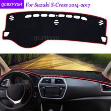 Per Suzuki S-Cross 2014-2017 Cruscotto Zerbino Interni di Protezione Pad Photophobism Ombra Cuscino Car Styling Accessori Auto