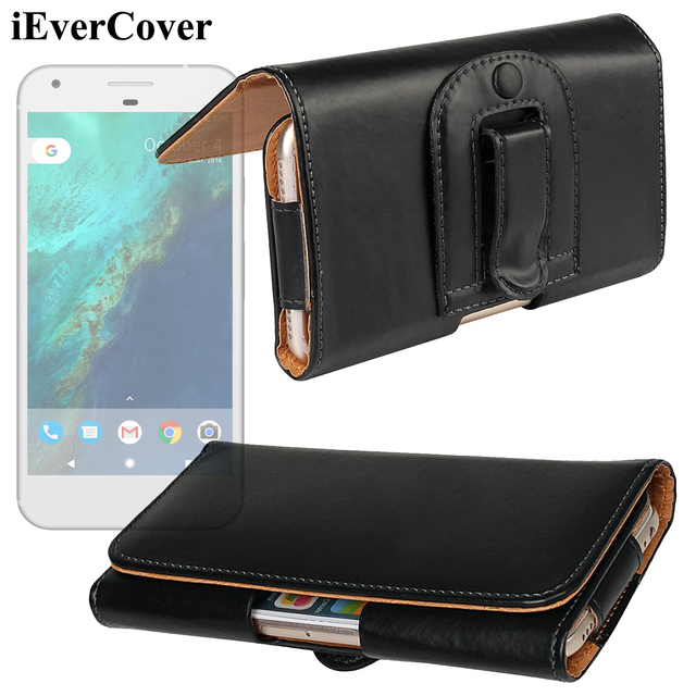 cheap for discount bfda1 69d15 US $11.97 |Horizontal Premium Leather Case Pouch Bag Holster Cover w/ Belt  Clip for Google Pixel 3 XL / Pixel 2 XL / Nexus 5X Phone Capa-in Wallet ...