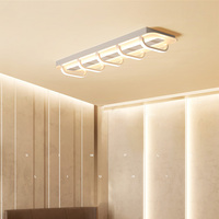 LED ceiling lamps Nordic Creative Acrylic Tunnel Aisle Light Corridor Office Indoor Lighting RC Dimmable Pendant light