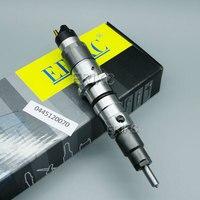 ERIKC Injector 0445120070 for Cummins 4930485 Diesel Parts Fuel Injector 0 445 120 070 Diesel Fuel Pump Set CR Fuel 0445 120 070