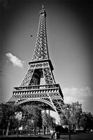 Custom Canvas Art Eiffel Tower Poster Paris Eiffel Tower Wallpaper Landscape Wall Stickers Christmas Bedroom Decoration