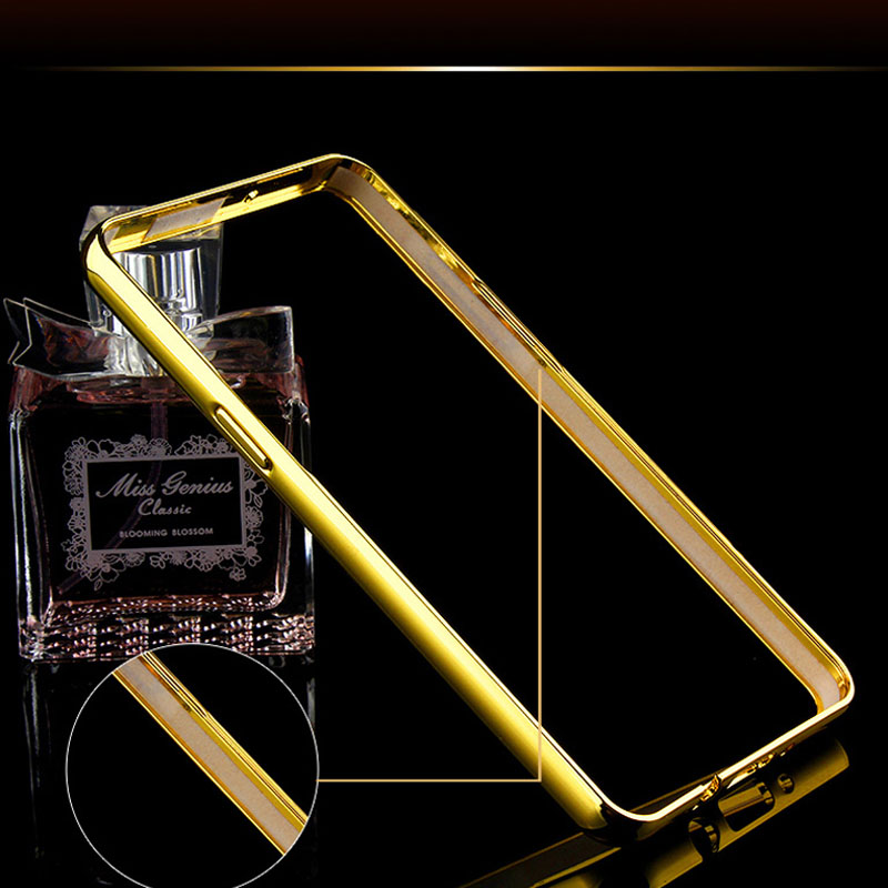 Coque S4 Gold Plating Aluminum Metal Frame Case For Samsung Galaxy S4 i9500 Mirror Acrylic Back Cover Fundas Luxury Accessories