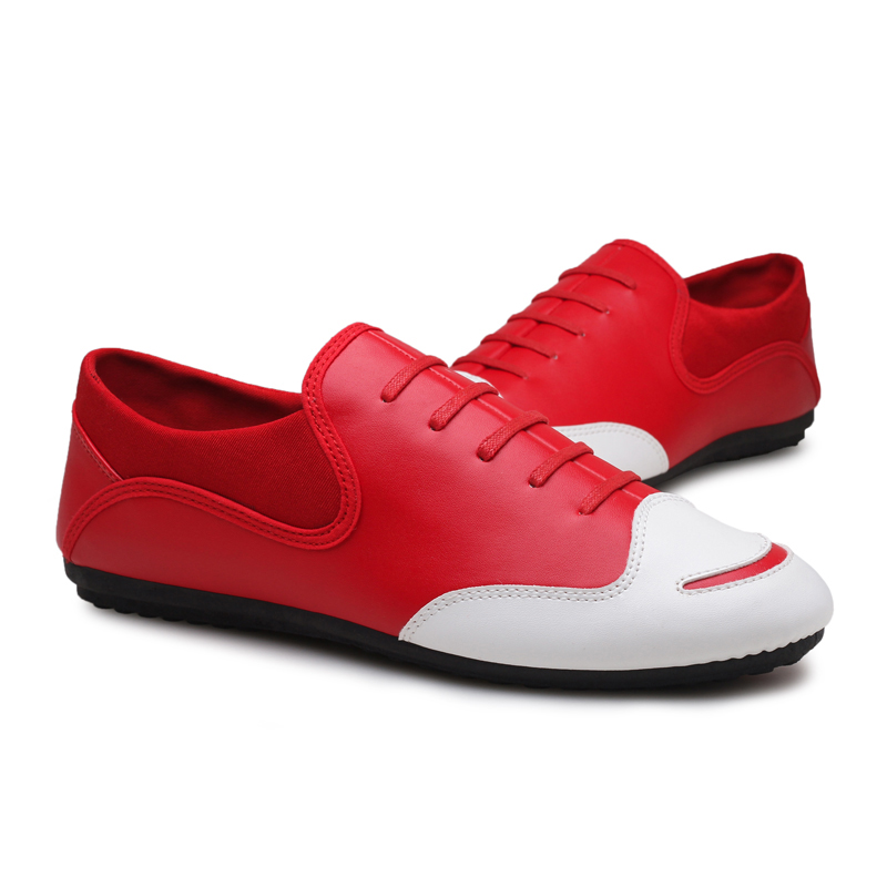 shoes men fashion casual pu Leather slip on business brand men dress - Men's Shoes - Photo 3