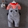 Winter thickening baby girls/boys clothing sets 0-2 years fashion infant cotton long sleeve T-shirt +pant 2pcs overalls sets