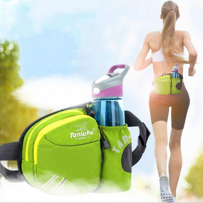 hot sell Woman man Multifunctional Athletic running Bag Waterproof Kettle Water Bottle Phone Money Bag Nylon Shoulder Waist bag