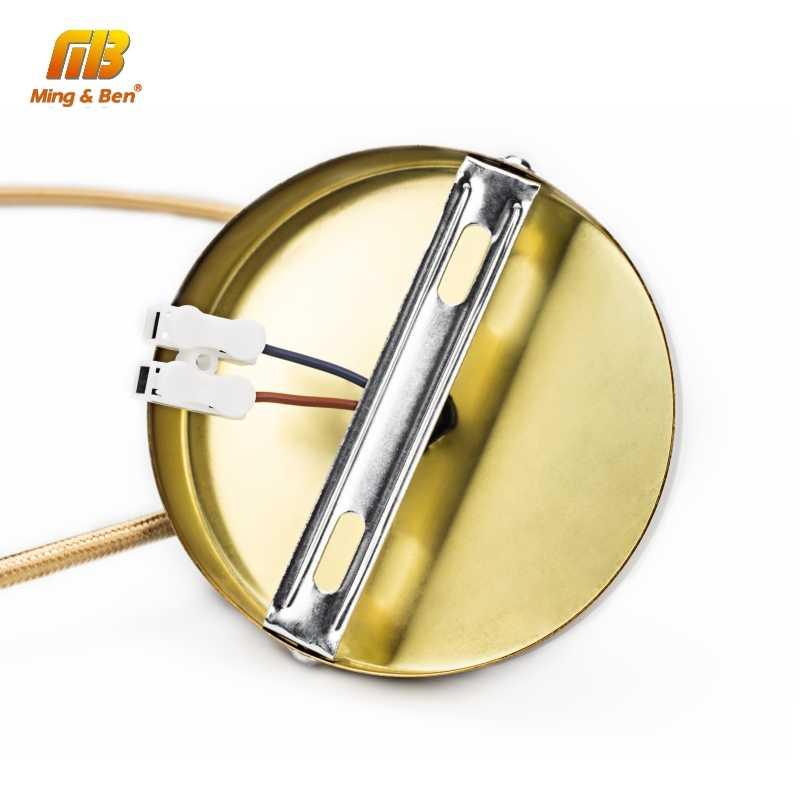 Светодиодный держатель лампы 1 м Ретро винтажный AC85-265V E27 Лофт креативный промышленный подвесной светильник базовый Декор античный винтовой светильник