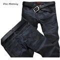 ДИ MOONLY продажи мужчины черные джинсы 2016 мужская мода джинсы мужчины большие одежда продажа осенью новый модный бренд мужские рваные джинсы брюки
