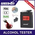 Цифровой ЖК-дисплей тестер на алкоголь для автомобиля accessior Алкотестер с фонариком автомобиля гаджет для водителя - фото